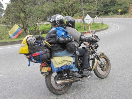 El placer de andar en moto