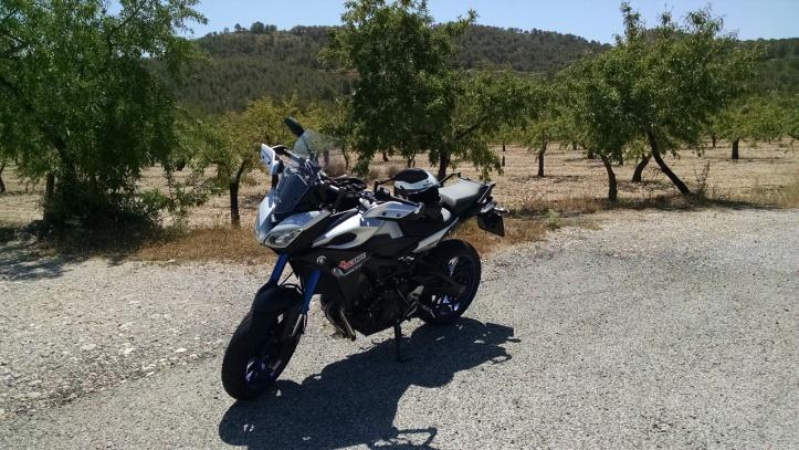experiencias en moto prueba yamaha mt-09 tracer