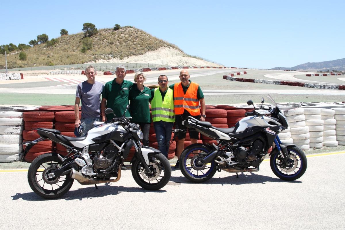 Una vuelta al circuito de Jumilla (Murcia) con una Yamaha MT-07